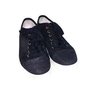 LANVIN Black Sneakers Sz 38